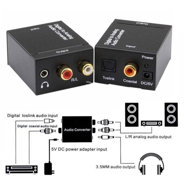 Feel free to make your order for Digital to Analog Audio Converter in Kenya Nairobi. Experience high quality Digital to Analog Audio Converter in Kenya Amtel Online Merchants