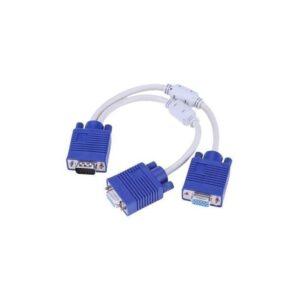 Vga Splitter 2 way (Y Cable)