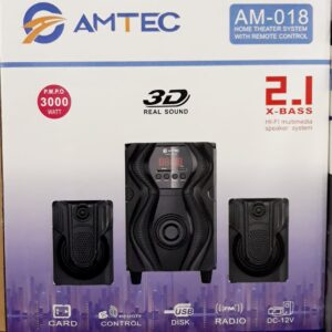 Amtec AM018-2.1ch Subwoofer Bluetooth Speaker in Nairobi Kenya