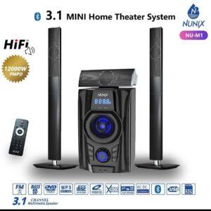 Nunix 3.1 MINI-Home Theater System 12000W M1-TALLBOYS